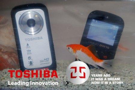 Διαγωνισμος με δωρο βιντεοκαμερα Toshiba για υποβρυχιες ληψεις